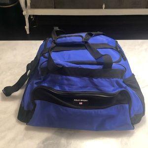 Polo sport gym bag